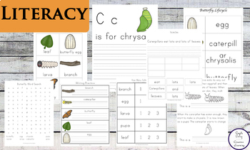 Butterfly Printable Pack for Preschool and Kindergarten