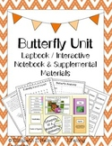 Butterfly Unit Study Bundle: Lapbook + Supplemental Materials