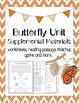 Butterfly Unit Study Bundle: Lapbook + Supplemental Materials