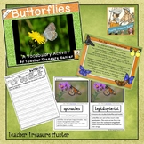 Butterfly Vocabulary words and facts