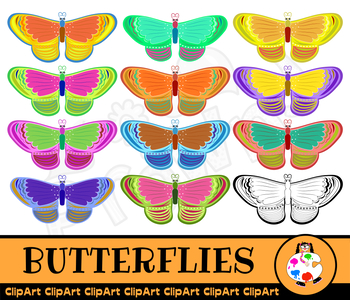 Butterfly Wild Life Insect Clipart