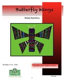 Butterfly Wing: Simply Symmetry Visual Arts Lesson for Kin