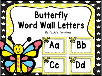 Butterfly Word Wall  Dollar Deal