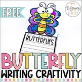 Butterfly Writing Craftivity Freebie