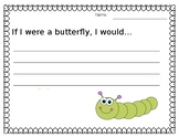 Butterfly Writing Worksheet