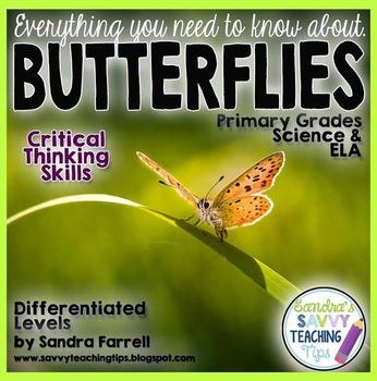 Butterflies - a Spring Non-Fiction Science Unit