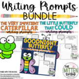 Butterfly and Caterpillar Book Companions: Writing Prompts BUNDLE