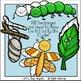 Butterfly and Caterpillar Clip Art Set - Chirp Graphics