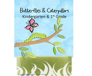 Butterflies & Caterpillars (PreK-2nd)