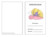Butterfly and Ladybug Science Observation  Journal