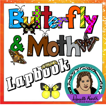 Butterfly and Moth Lapbook - Great Unit Study with 17 Booklets!