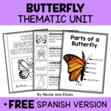 Thematic Unit - Butterfly Activities