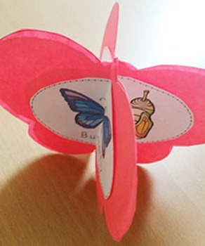 Butterfly Life Cycle Craft Activity 3d
