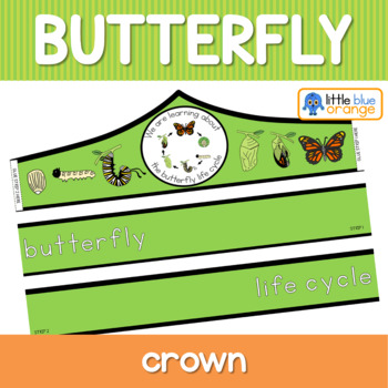 Butterfly life cycle crown