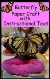 Butterfly life cycle monarch paper project fine motor acti