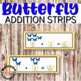 Butterfly Math Centers Bundle - counting, addition, writing