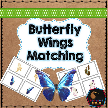 Butterfly puzzle matching