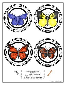 Butterflies All About Butterflies Interactive Research Activities