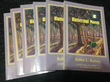 Literature Circle Set of 6: Butternut Moon by Robin L. Ramey