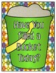 Bucket Filling Interactive Bulletin Board (png. files)