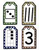 Kindergarten Numbers Kit (png files)