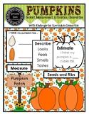 Pumpkin Booklet, Labels and Coloring (pdf)
