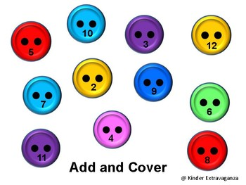 Button Add and Cover FREEBIE