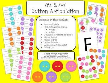 Button Articulation /f/ & /v/