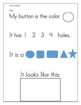 Button Attribute worksheet
