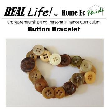 Button Bracelet - a Product for your Students to Create for their Business!