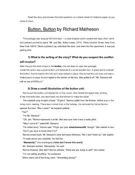 Button, Button- Active Reading Activity