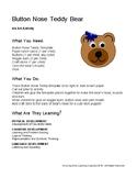 Button Nose Teddy Activity