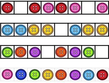 Button Patterning Strips