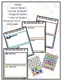 Button Sorting Activity Mats