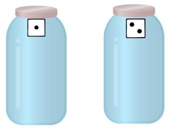 Button Sorting Jars