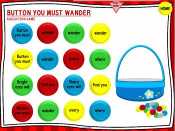 Button You Must Wander - SMART Board