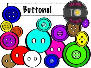 Buttons, Buttons, Buttons! {TeacherToTeacher Clipart}