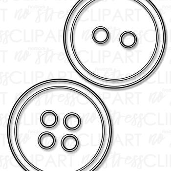 Buttons Clip Art (Digital Use Ok!)