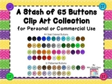 Button Clip Art (66 PNG Images of Buttons) Big Set of Butt