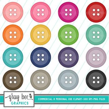 Buttons Clip Art Pack