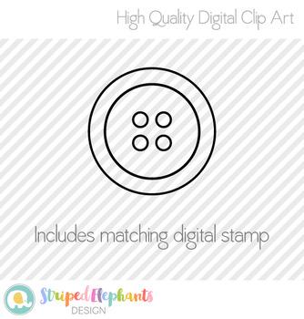 Buttons Clip Art Set 1
