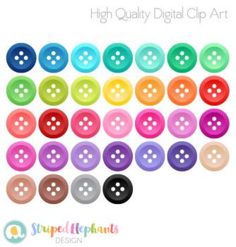 Buttons Clip Art Set 2