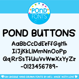 Font - Buttons Font - Decorative Fonts for Teaching & Classrooms