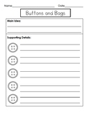 Buttons and Bags Graphic Organizer