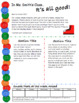 """Buttons and Shoes Editable Newsletter Template (""""Pete the Cat"""")"""