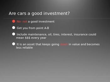 Buy A Car Powerpoint