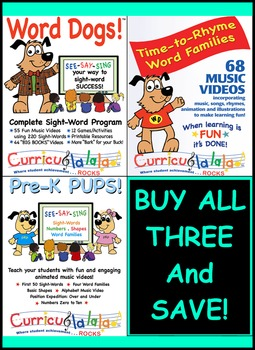 Buy All Three and Shipping's FREE!   www.curriculalala.com