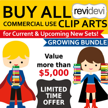 Buy Everything Clip Art Growing Bundle (lifetime access to all clipart)