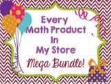 All My Math Products Mega Bundle