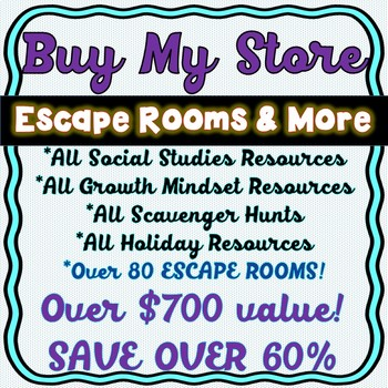 Buy My Store: All Social Studies Resources and Holiday Products!